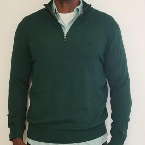 8d876edfecc Nautica 1/4 zip sweater